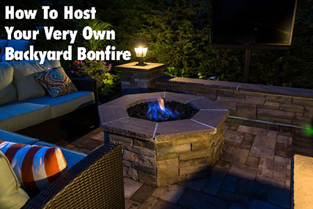 How to Host Your Very Own Backyard Bonfire