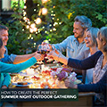 How to create the perfect summer night gathering