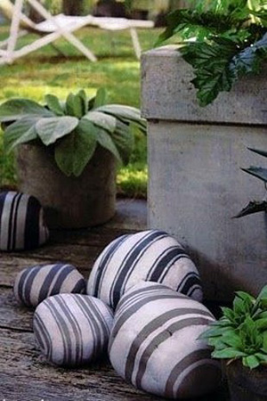 4 Backyard DIYs You Need to Try - Colorful Painted Stones