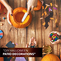 DIY Halloween Patio Decorations