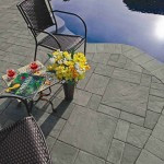 Heavily textured pavers remain in fashion