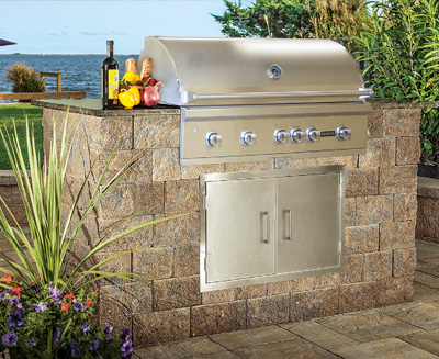 Cambridge Pre-Cut & Pre-Packaged MaytRx Wall Grill Module Kit