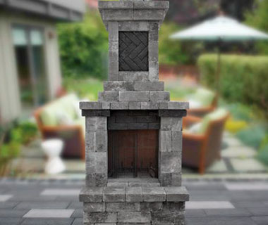 New! Mini Fireplace Design