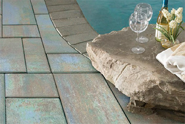 Paver Multi-Color Blend Colors