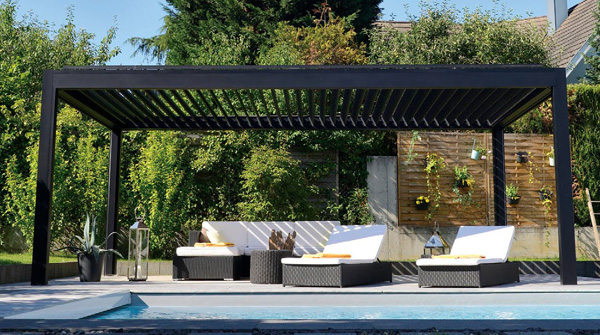 Pre-Packaged Louvered Pergola